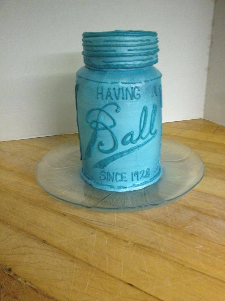 Ball Jar Cake