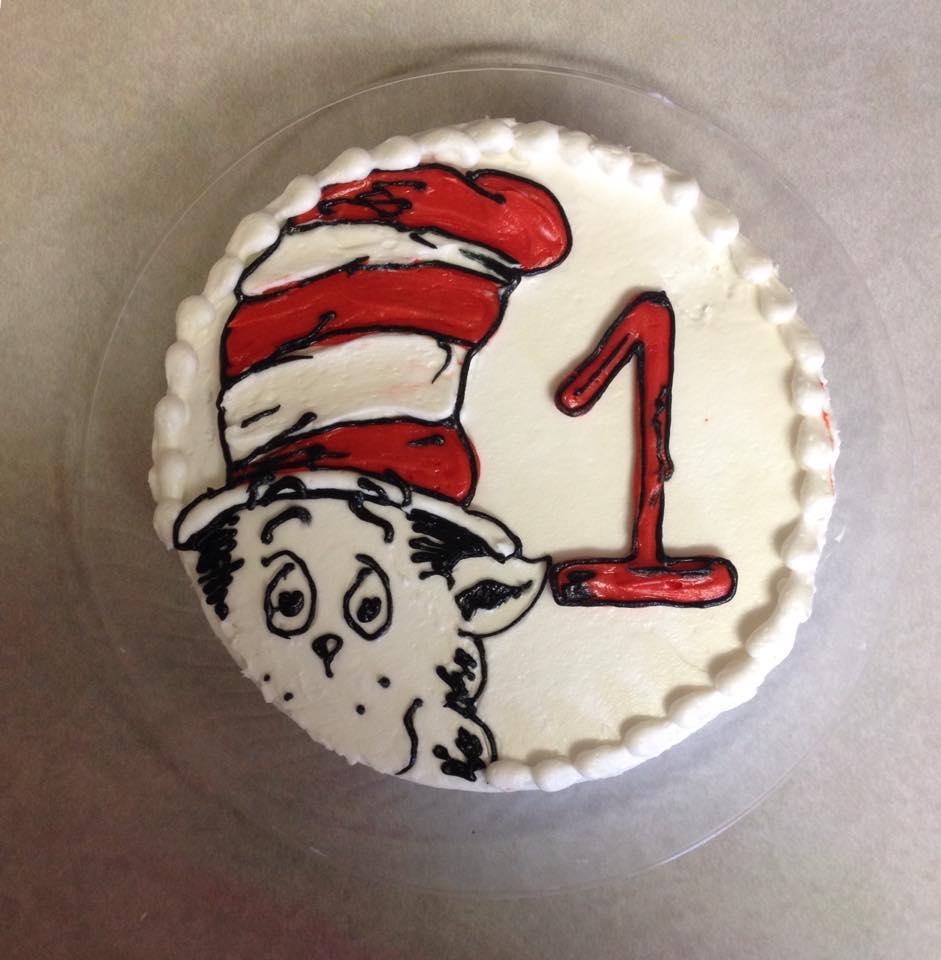 1st Birthday finger cake