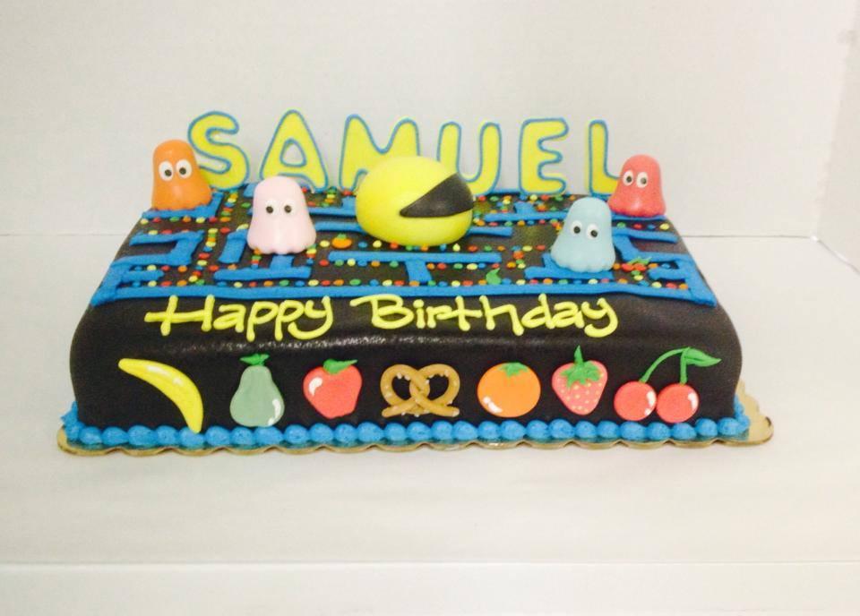 Pacman Sheet Cake