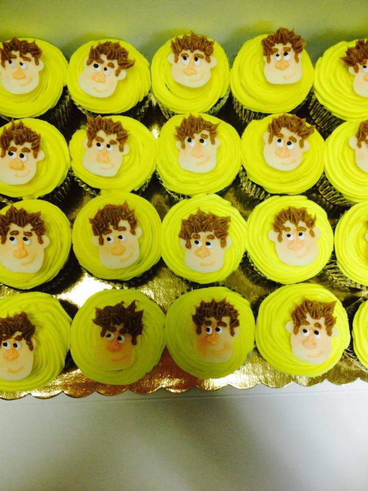 Wreck it Ralph cupcakes