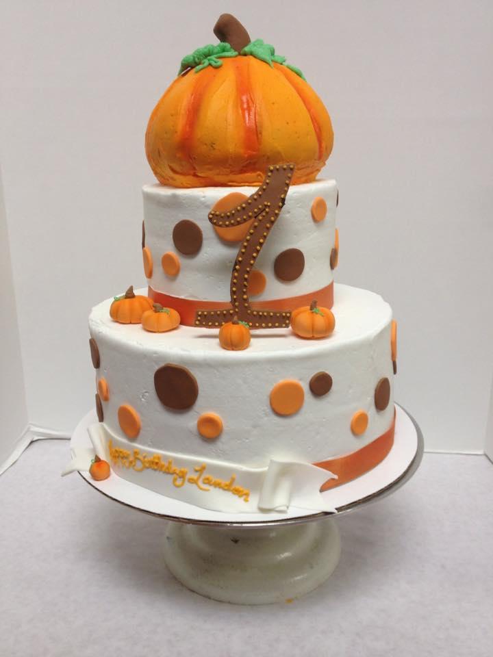 Happy 1st Birthday Pumpkin