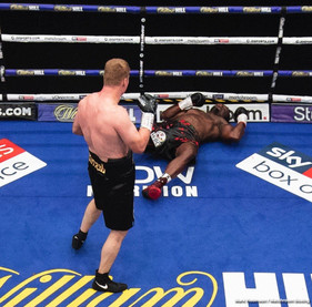 Whyte gets sparked out by Povetkin in the fifth