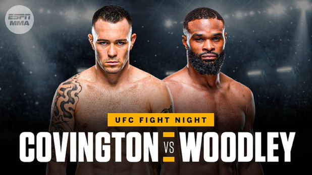 Woodley and Covington Set to Clash at Fight Night