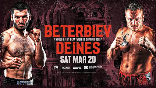 Artur Beterbiev will finally face Adam Deines with the unified light heavyweight title on the line