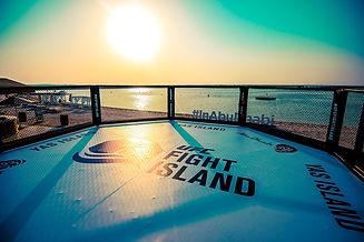 Fight ISland Beach Octagon Sun Yas Islan