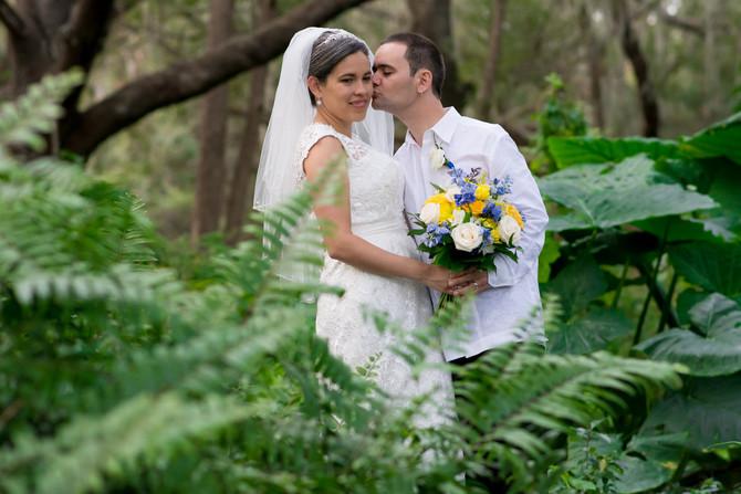 A wedding between Puerto Rico and France Oh la la