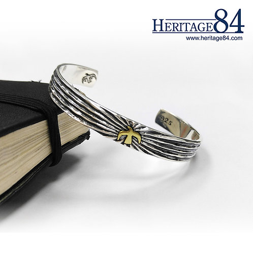 Eagle Cuff Bracelet | Hawk Sterling Silver Bangle