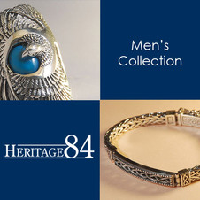 Men's jewelry in sterling silver