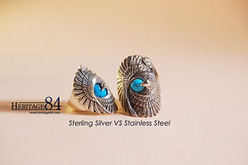 silver vs stainless steel