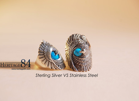 Difference between Silver Jewelry & Stainless Steel Jewelry.