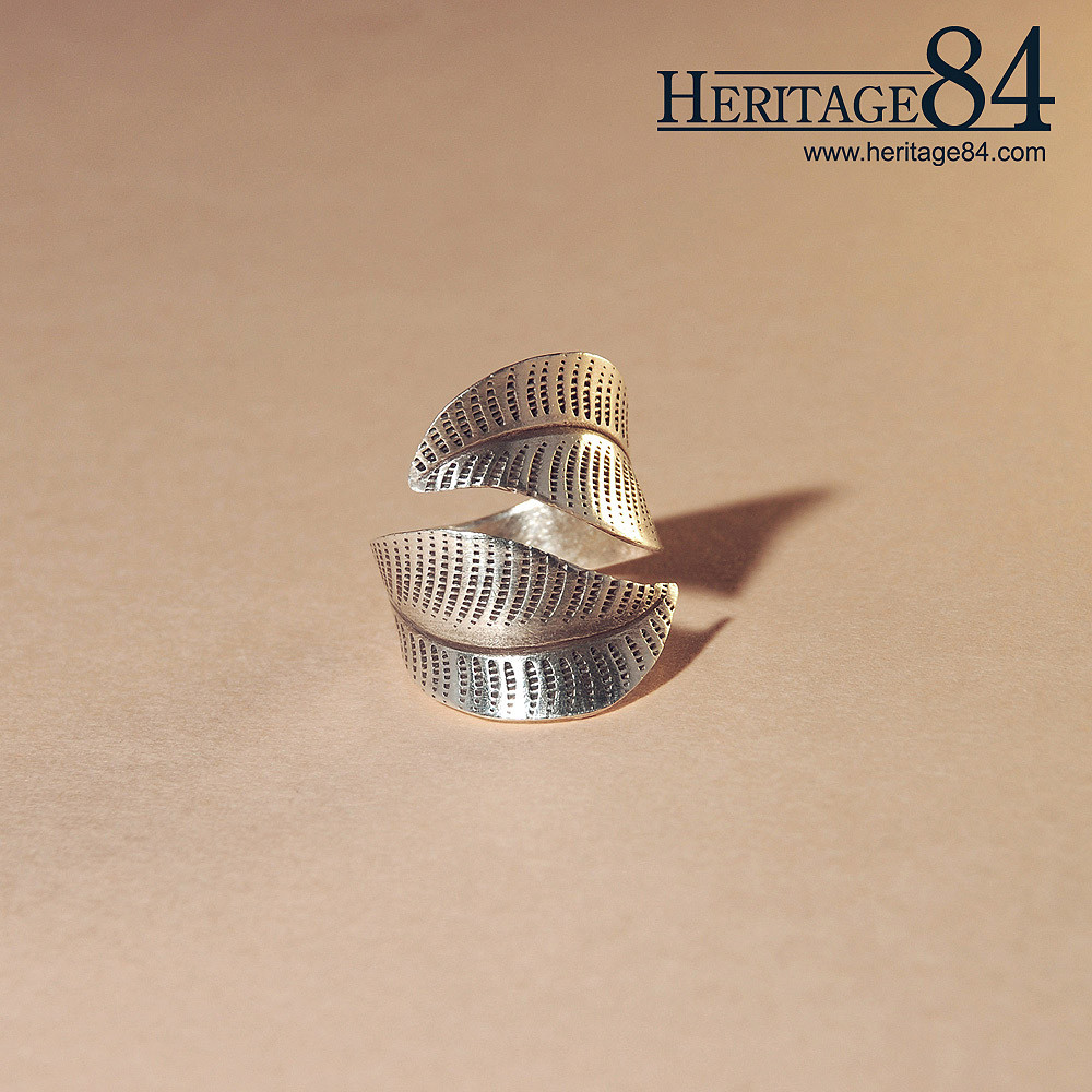 Thai silver ring, traditional Thailand silver jewelry
