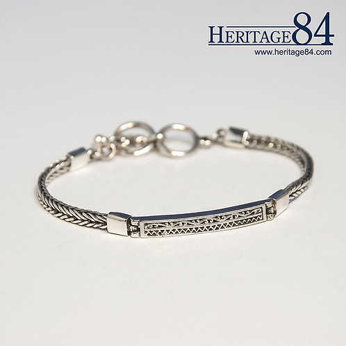 Bracelet for man and woman in 925 sterling silver