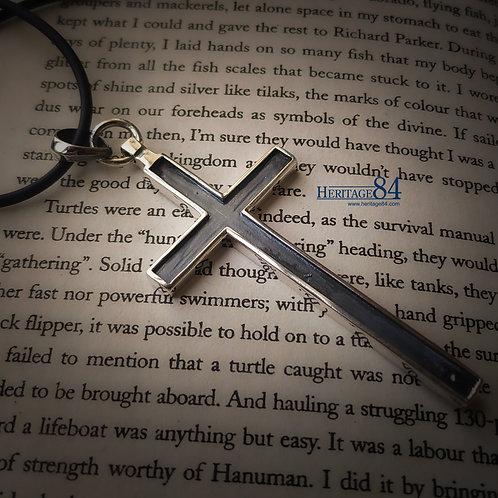 Long cross pendant, christian cross