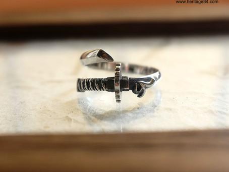 Japanese Samurai sword Finger Ring