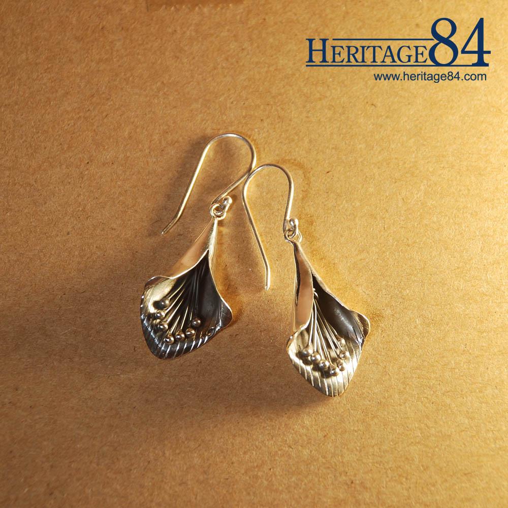 Handcrafted Flower Earrings