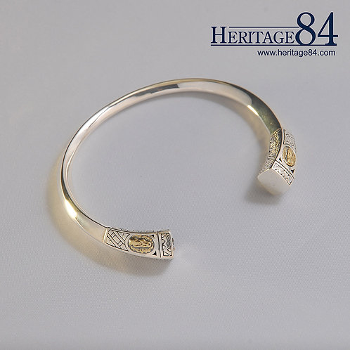 Cuff Bracelet   Solid Silver Bangle for Women