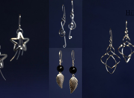 Silver Earrings Collection New Arrived