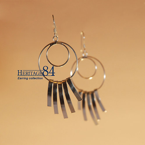 Wind Fairy - 925 Sterling silver dangle earrings