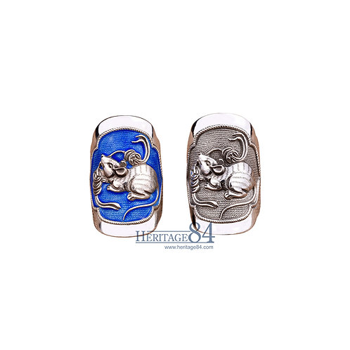 Mice, Fine Silver RIngs, Chinese Zodiac Animals