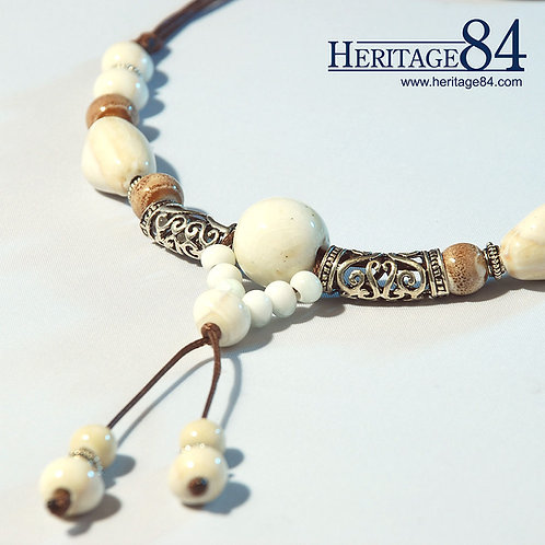 Oriental Handmade tribal necklace | Beaded Necklace