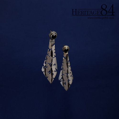 925 Handcrafted Earrings | post earrings in sterling silver