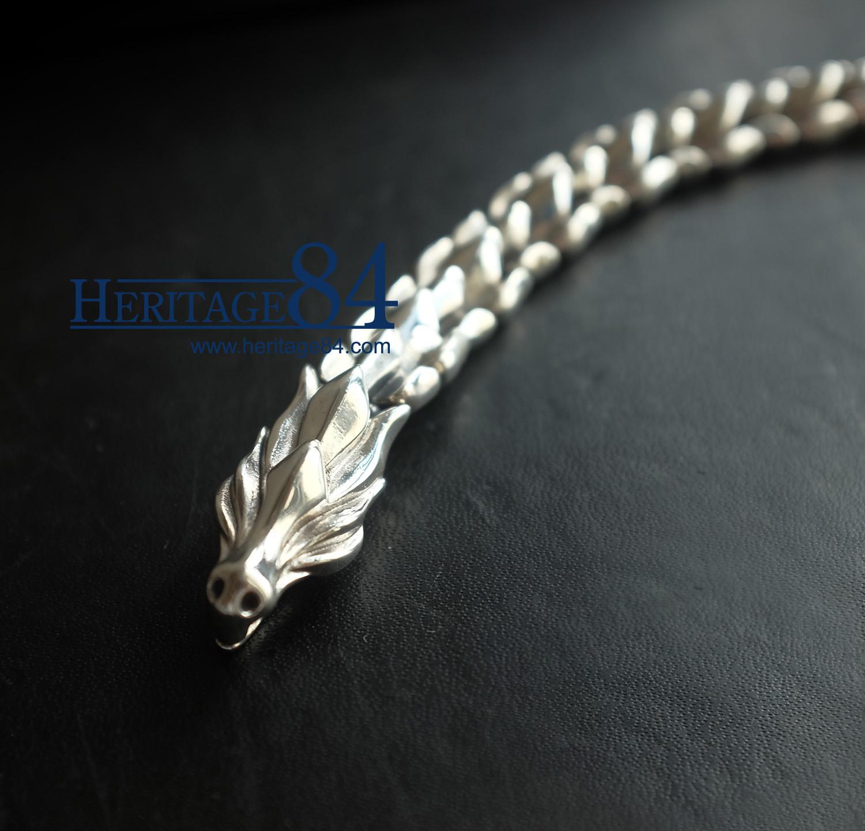 Dragon bracelet in Silver