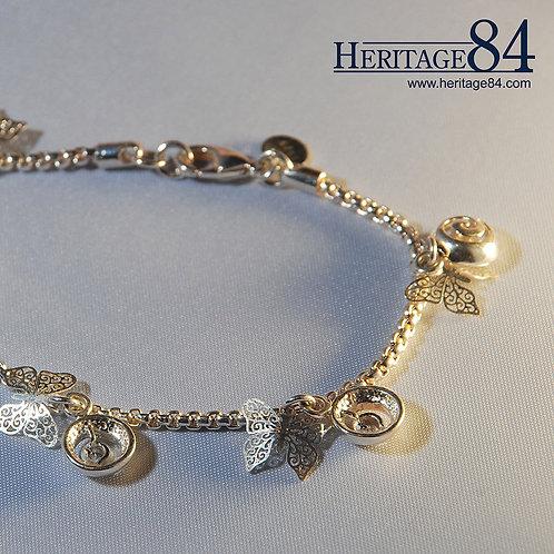 Butterfly - Fashion charm bracelet / anklet