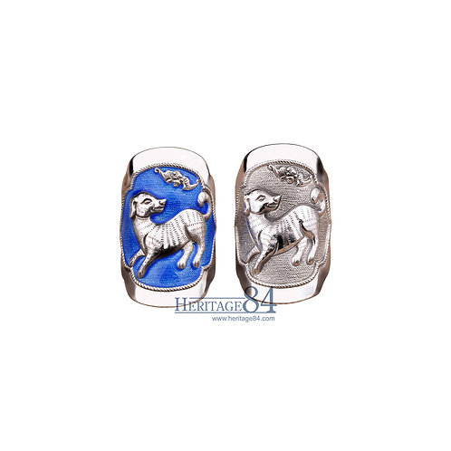 Dog, Fine Silver Rings, Chinese Zodiac Animals
