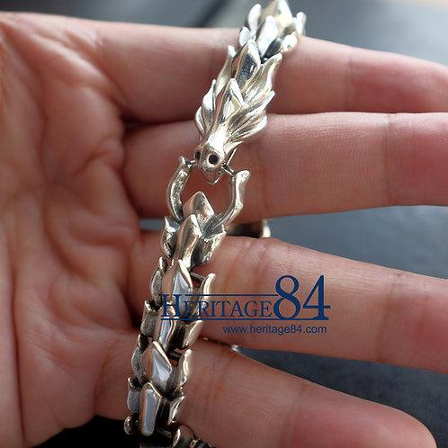 Dragon Bracelet, Silver Bracelet for Man or Women
