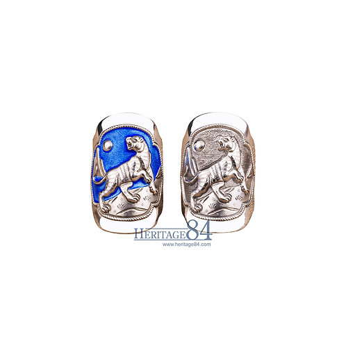 Tiger, Fine Silver Rings, Chinese Zodiac Animals