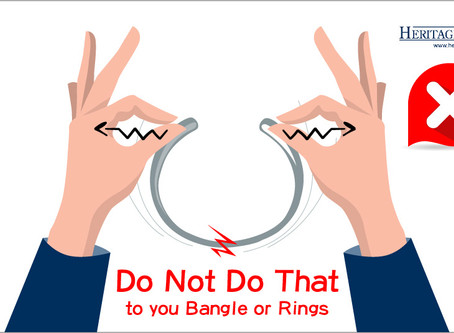 How to bend your cuff bangle/bracelet