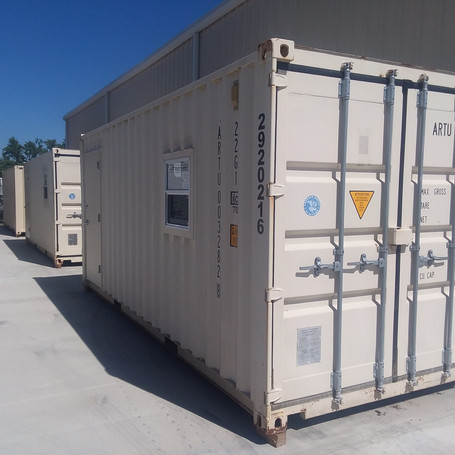 20' Office Conex with Insulated walls and AC