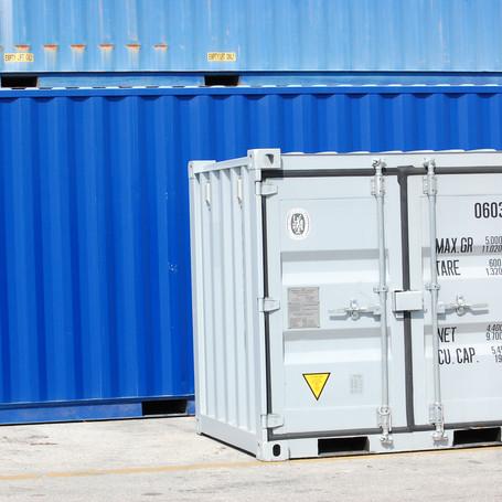 6' square Conex Storage Space