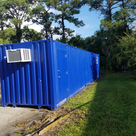 40' High Cube Conex customized to request