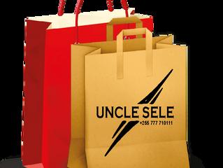 UNCLE SELE Industry paper bags