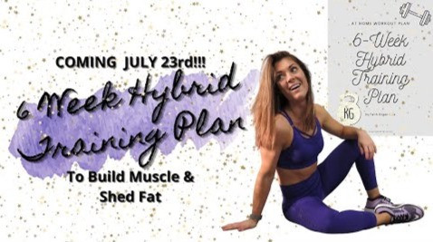 six week hybrid at home training plan to shed fat and build muscle