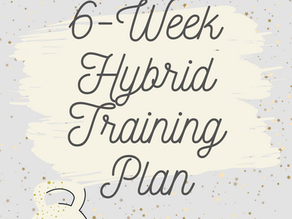 Six Week Hybrid Training Plan is in Our Store LIVE