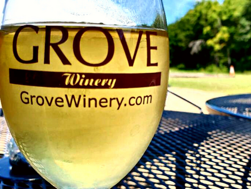Grove Winery & Vineyards in Gibsonville, North Carolina NC Day Trips
