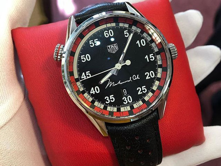 Tag Heuer Mohammed Ali limited edition watch - Interesting unnbiased review