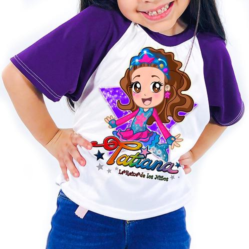 Playera Tatiana (Infantil)