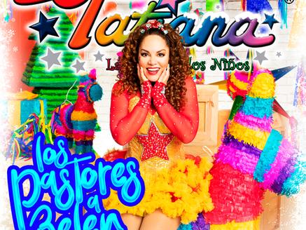"""Tatiana lanza nuevo villancico, """"Los Pastores A Belén"""""""