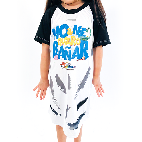 No Me Quiero Bañar (Pijama Infantil)