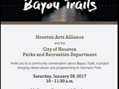 Bayou Trails at Hermann Park