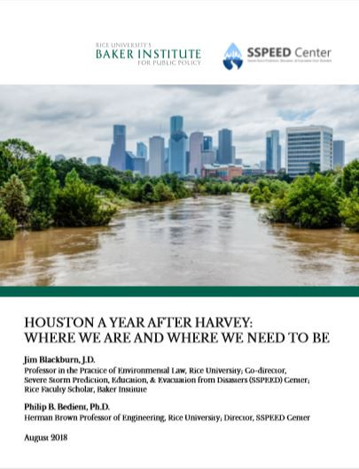 Houston A Year After Harvey, Jim Plackburn and Phil Bedient