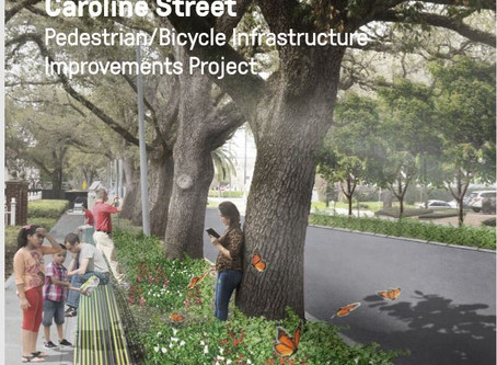 Caroline Promenade - we look forward to your ideas!  Next Public Meeting Nov. 14, 4949 Caroline!