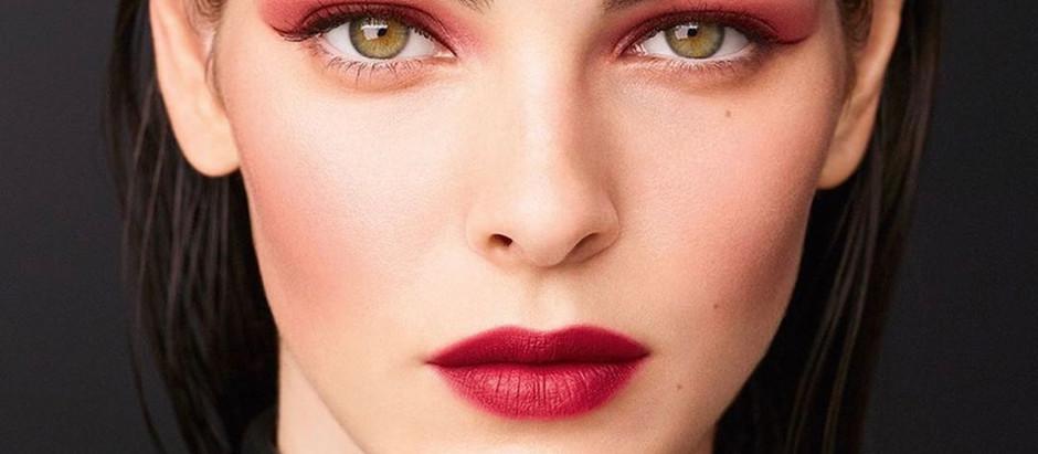 MODEL PERSPECTIVE Vittoria Ceretti for Chanel's 2020 Makeup Fall/Winter Campaign