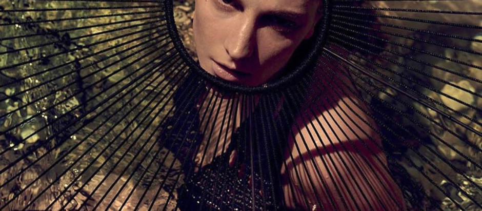 MODEL PERSPECTIVE Earthy Goddess Ros Georgiou For Vogue Greece July/August 2020