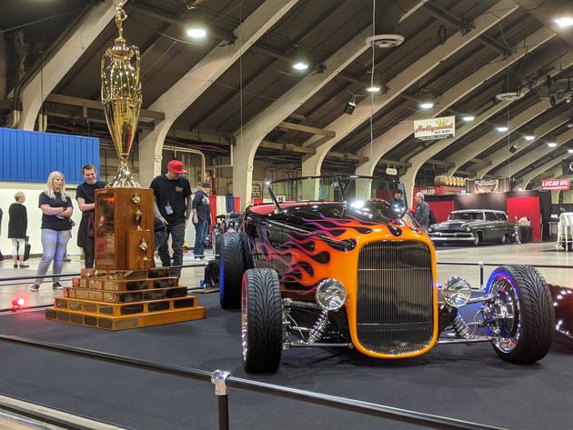 Monty Belsham's '32 Muroc Roadster 2020 AMBR Wnner