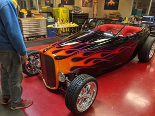 Monty Besham's '32 Muroc Roadster 2020 AMBR Winner