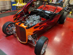 Monty Belsham's '32 Muroc Roadster 2020 AMBR Winner